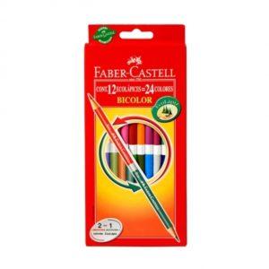 lapices-de-colores-faber-castell-bicolor-largas-12-colores